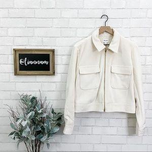 Nine West Off White Velvet Jacket
